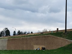 115/365/8 (f l a m i n g o) Tags: home homeless belongings highway outside gather april 18th 2019 morning thursday project365 365days 39337