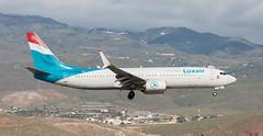B737   LX-LBA   LPA   20190408 (Wally.H) Tags: boeing 737 boeing737 b737 lxlba luxair luxembourgairlines lpa gclp grancanaria laspalmas airport