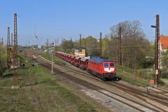 232 527     ( WFL ) (René Große) Tags: eisenbahn train rail railways zug güterzug stellwerk signal lok lokomotive diesellok 232 v300 wfl schönefeld leipzig sachsen mitteldeutschland deutschland germany