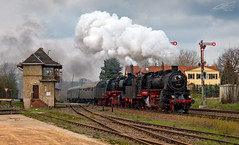 58 311 + 50 3610 - Deutschenbora - 13/04/2019 (spottermarc) Tags: g 12 1125 58 311 11112 1111 2 uef ulmer eisenbahnfreunde 90 80 3116 maschinenbaugesellschaft karlsruhe baujahr 1921 fabriknummer 2153 deutschenbora stellwerk formsignal 50 3610 wfl 1768 36108 wedler franz 0053 6106 schichau werke elbing 1941 3469 dampflok dampflokomotive steam baureihe dr deutsche bahn db reichsbahn railway lok loc heritage locomotive class train trainspotting transport canon 6d mark ii engine spotter eisenbahn rail schiene schienenverkehr railroad loco tfz zug lokomotive