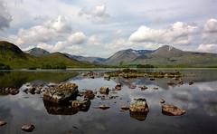 Rannoch Moor (andrewmckie) Tags: rannochmoor lochannahachlaise theblackmount blackmount lochs water reflections mountains scottishscenery scenery scottish scotland