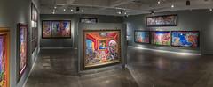 018-_G4D1614-Pano (Taller Puertorriqueño, Inc.) Tags: paintings exhibition art artexhibition