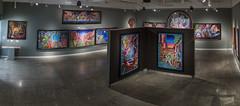 017-_G4D1604-Pano (Taller Puertorriqueño, Inc.) Tags: paintings exhibition art artexhibition