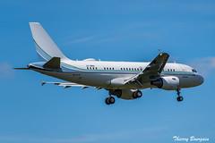 "[ORY] ""Qatar Amiri Flight"" Airbus A319-CJ _ A7-MHH (thibou1) Tags: thierrybourgain ory lfpo spotting aircraft airplane nikon d810 qatar airbus a319cj a7mhh a319 tamron sigma airbusa319 landing qataramiriflight geneva orly"