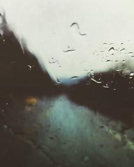 Dour (BLACK EYED SUZY) Tags: dark wet headlights dreary road drive rain