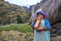 Blu (Andrea Gambadoro) Tags: yellow child portrait boy bottle pic view sacred valley family folk costumes photography photographer quechua mountain mountains south america travel natgeo national geographic