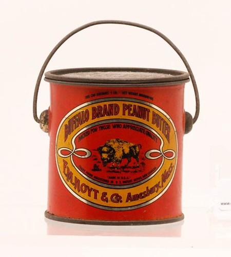 Peanut Butter Tin, Buffalo Brand ($190.40)
