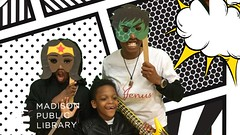 A Knight Out (madisonpubliclibrary) Tags: pinneylibrary 2019 kids children teens permissions lafollettehighschool mscr