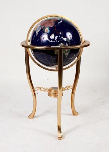 Globe on Brass Stand ($364.00)