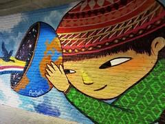 Julieta XLF / Leuven - 16 apr 2019 (Ferdinand 'Ferre' Feys) Tags: belgique belgië streetart artdelarue graffitiart graffiti graff urbanart urbanarte arteurbano ferdinandfeys belgium leuven louvain julietaxlf