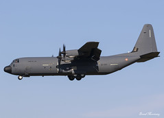 French Air Force (Armée de L'air) C-130J 61-PP (birrlad) Tags: toulouse tls aircraft airport airplane airplanes aviation france french air force arméedelair c130j 61pp airforce military arrival arriving approach finals landing runway lockheed hercules c130 prop turboprops