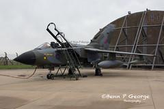 TORNADO-GR4-ZG752-8-3-19-RAF-MARHAM-(3) (Benn P George Photography) Tags: rafmarham 8319 bennpgeorgephotography tornadofinale mightyfin royalairforce tornado gr4 zg752 camojet retro camo 9sqn 31sqn panavia nikon nikond7100 nikon18105vr