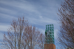 Spring blossems around Binghamton University (BinghamtonUniversity) Tags: 2019 misc miscellaneous spring blossoms seasons clock tower union vestal ny usa