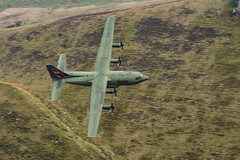 Raf C130J ZH887 (tomdavies19) Tags: c130 hercules plane transport machloop cadwest nikon tamron special tail green nikond7200 raf usa uk wales northwales props shutterspeed explore mountain low lowlevel flying aviation plan aircraft military training