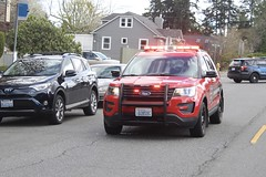 South County Fire Ford Police Interceptor Utility (Ryan Elkins) Tags: south county fire snohomish ford police interceptor utility suv explorer firefighter washington