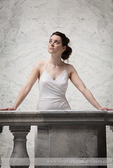 Almost a Balcony (Laura K Bellamy) Tags: bride bridal bridals portraits wedding weddings
