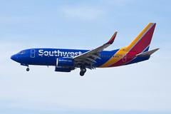 Southwest Airlines Boeing 737-700 N7712G (jbp274) Tags: lax klax airport airplanes boeing 737 southwest wn