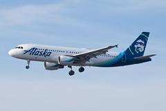 Alaska Airlines Airbus A320 N630VA (jbp274) Tags: lax klax airport airplanes alaskaairlines airbus a320