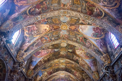 Bóveda de la iglesia de San Nicolás, Valencia 02 (dorieo21) Tags: bóveda iglesia église church fresco fresque voûte vault