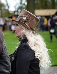 17 Elfia Haarzuilens (Roger-Kersten) Tags: elfia haarzuilens elfiahaarzuilens steampunk frau women zylinder cylinder hut cap