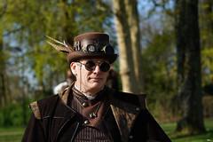 03 Elfia Haarzuilens (Roger-Kersten) Tags: elfia haarzuilens elfiahaarzuilens steampunk mann man bowler hut cap