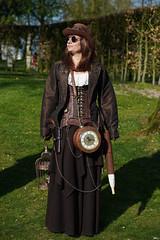 02 Elfia Haarzuilens (Roger-Kersten) Tags: elfia haarzuilens elfiahaarzuilens steampunk frau women zylinder cylinder hut cap