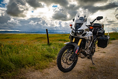 IMG_0044 (jde95tln) Tags: carrizo plain national monument honda africa twin crf1000l dct 2016 2019 superbloom super bloom wildflowers clouds
