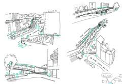 Archi sketches (velt.mathieu) Tags: sketch croquis architecture digital 스케치 pen urban building