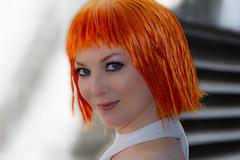 (Abel AP) Tags: people cosplay cosplayer leeloo portrait fanimecon fanimeconsanjose sanjose california usa bayarea abelalcantarphotography