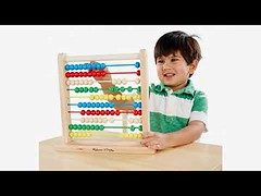 What is Price of Melissa & Doug Abacus Classic Wooden Toy, Developmental Toy, Brightly-Colored Wooden Beads, 8 Ext.. (bauxitetraders) Tags: melissa doug abacus classic wooden toy developmental brightlycolored beads 8 ext