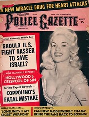 Jayne Mansfield - The National Police Gazette (poedie1984) Tags: jayne mansfield vera palmer blonde old hollywood bombshell vintage babe pin up actress beautiful model beauty hot girl woman classic sex symbol movie movies star glamour icon sexy cute body bomb 50s 60s famous film celebrities pink rose filmstar filmster diva superstar amazing wonderful photo picture american love goddess mannequin black white tribute blond sweater cine cinema screen gorgeous legendary iconic magazine covers color colors national police gazette busty boobs décolleté lippenstift lipstick oorbellen earrings