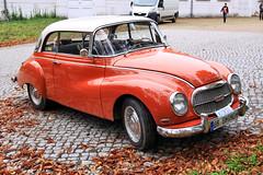 Auto Union 1000 S (01) (Stefan_68) Tags: deutschland germany auto automobil automobile automóvel automóvil car voiture coche oldtimer classiccar autounion dkw 1000s