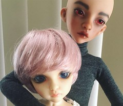 Brother and Sister (Opal Doll BJD) Tags: minikamu littlerebel rebel little nanuri13 littlefee fairyland doll bjd