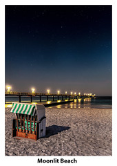 Moonlit Beach (The Tenacious P.!) Tags: moon 80d shadow beach astro astrophotography panorama canon