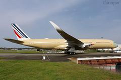 F-WZFN Airbus A350 Air France (@Eurospot) Tags: fwzfn airbus a350 a350900 airfrance toulouse blagnac fhtya