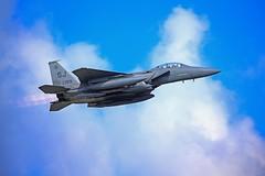 F15E AF 87-0199 Tabor93 (XWP29) Tags: f15e seymour johnson afb raf lakenheath tabor93 af870199 take off deployment burners departs runway 06