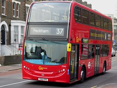 London Central E260 (YX12FPV) - 16-04-19 (peter_b2008) Tags: goaheadgroup goaheadlondon londoncentral alexanderdennis adl enviro400 e260 yx12fpv buses coaches transport buspictures