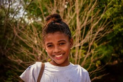 Dressed for Town (Rod Waddington) Tags: africa afrique afrika madagascar malagasy girl culture cultural child streetphotography portrait people town dressed smile smiling