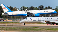 All American (Sky Noir) Tags: aircraft jet air force 2 two airlines airport c32 boeing 757 airforceone
