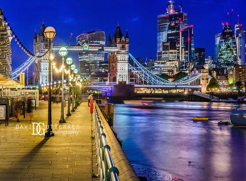 Nightfall - London, UK