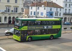 1146 HW09BCE (PD3.) Tags: isle wight iow bus buses hampshire hants england uk ryde newport southern vectis scania omnidekka 1146 hw09bce hw09 bce