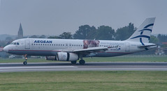 AEGEAN special SX-DVU (K.D_aviation) Tags: tap staralliance skyteam czech airport boeing airbus aegean aviation greece belgium brussels