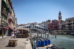 Rialto Bridge, Venice (christopher.czlapka) Tags: water river flickr photography photo sunny sun love landscapes landscape venice italy bridge rialto rialtobridge