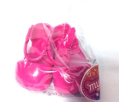 MLA Mary Jane with chunky heels (Bubblegum18) Tags: mla ag og fashion doll pink rainbow 2019