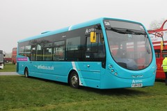 IMG_2462 (Ray's Photo Collection) Tags: wright arriva detling 3301 fj64evb transport show heritage maidstone kent england uk bus rally southeast