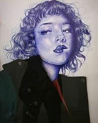 Darmstadt 2019.03.23.  Collection Women - 1.3 - Artist LAURA CRUZ (Rainer Pidun) Tags: graphic grafik graphique