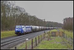 RRF 189 099, Apeldoorn (J. Bakker) Tags: rrf rf rotterdam rail feeding distrirail br189 189 099 siemens 49580 apeldoorn nederland