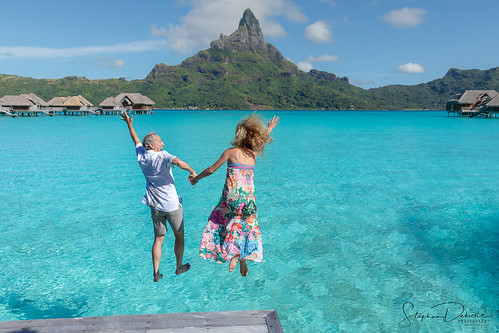Brenda & David - The Intercontinental Thalasso - Bora Bora