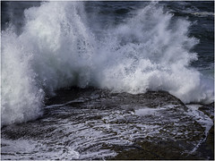 Big Ocean Waves (Luc V. de Zeeuw) Tags: atlantic coast coastline ocean rock rocks splash water wave waves peniche centro portugal