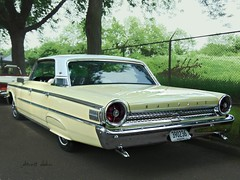Galaxie 500 XL (novice09) Tags: backtothefifties carshow ford 1963 galaxie500xl fenderskirts whitewalls ipiccy photoscape